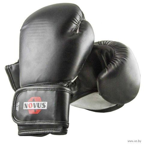 Перчатки боксёрские LTB-16301 (S/M; чёрные; 12 унций) — фото, картинка