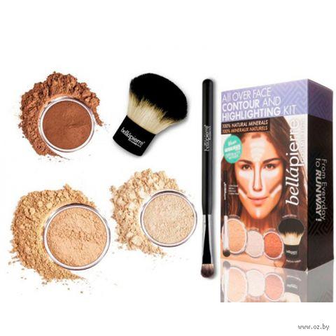 """Набор для акцентного макияжа """"Contour Kit Medium"""" (5 предметов) — фото, картинка"""