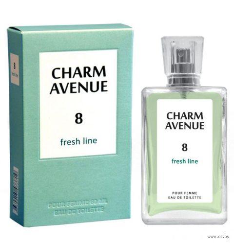 "Туалетная вода для женщин ""Charm Avenue 8. Fresh Line"" (60 мл) — фото, картинка"