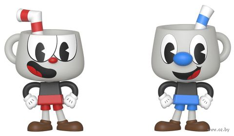 "Фигурка ""Cuphead and Mugman"" — фото, картинка"