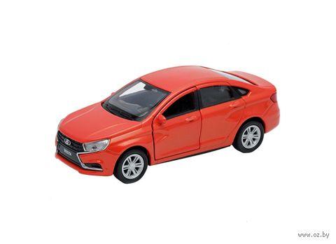 """Модель машины """"Lada Vesta"""" (масштаб: 1/34-39) — фото, картинка"""