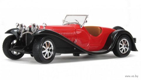 "Модель машинки ""Bburago. Bugatti Type 55"" (масштаб: 1/24) — фото, картинка"