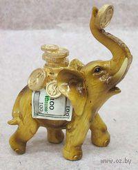 "Статуэтка ""Слон"" (пластик, 13 см)"