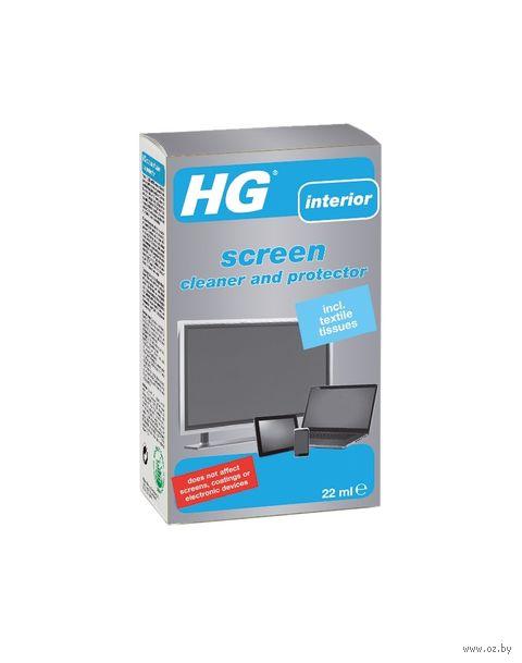 """Салфетки для очистки и ухода """"HG. Для экранов мониторов"""" (10 шт) — фото, картинка"""