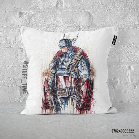 """Подушка """"Капитан Америка"""" (арт. 222) — фото, картинка"""