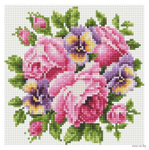 """Алмазная вышивка-мозаика """"Для неё"""" (200x200 мм; арт. 7713867) — фото, картинка"""