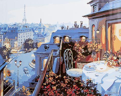 """Картина по номерам """"Ужин в Париже"""" (400х500 мм) — фото, картинка"""