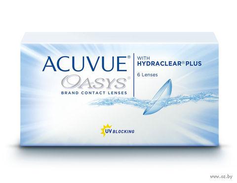 """Контактные линзы """"Acuvue Oasys"""" (1 линза; -2,25 дптр) — фото, картинка"""