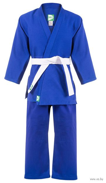 Кимоно для дзюдо MA-302 (р. 5/180; синее) — фото, картинка