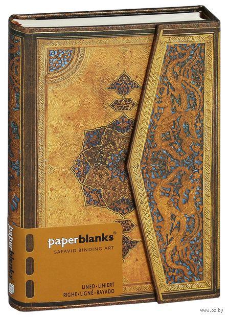 "Записная книжка Paperblanks ""Эпоха Сафавидов"" в линейку (формат: 100*140 мм, мини)"