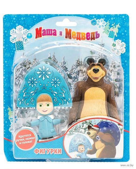 "Набор фигурок ""Маша и Медведь. Зима"" (2 шт.)"