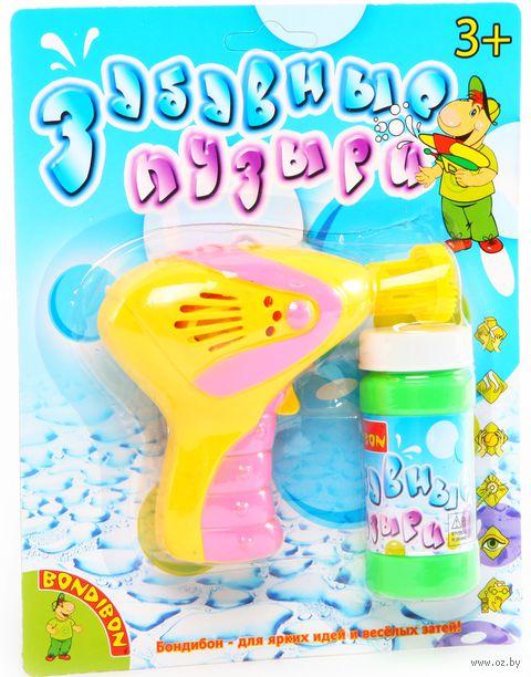 """Игрушка для выдувания мыльных пузырей """"Забавные пузыри"""" (арт. ВВ0471)"""
