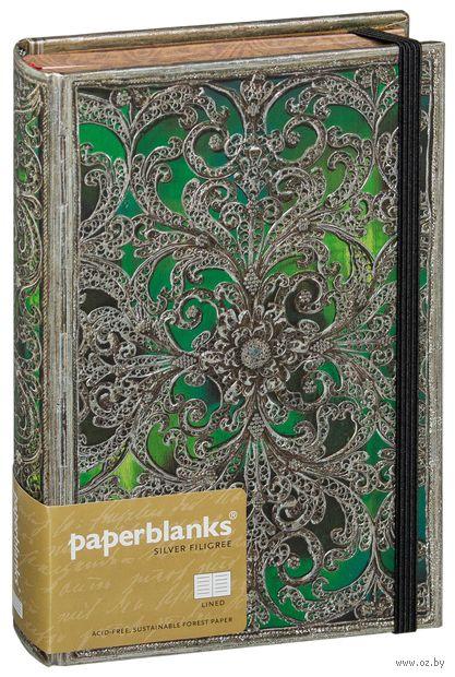 """Записная книжка Paperblanks """"Эсмеральда"""" в линейку (130х180 мм) — фото, картинка"""