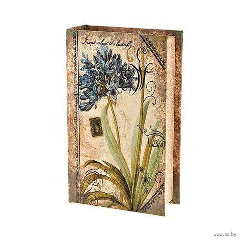 Шкатулка деревянная (210х130х50 мм; арт. 7790155) — фото, картинка