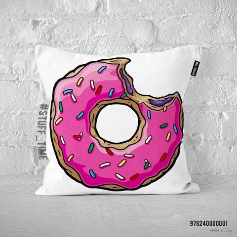 """Подушка """"Симпсоны. Пончик"""" (арт. 001) — фото, картинка"""