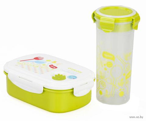 """Набор контейнеров для еды """"Bento Kids"""" (2 шт.) — фото, картинка"""