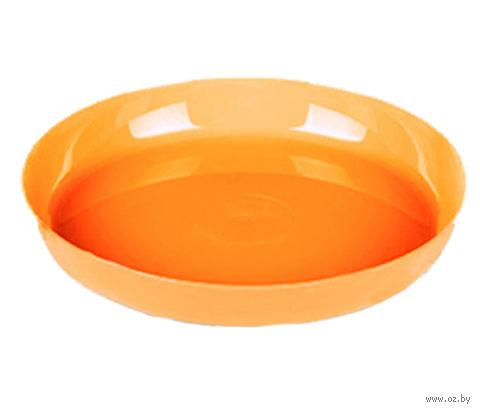 """Подставка для цветочного горшка """"Ага"""" (17 см; оранжевый) — фото, картинка"""