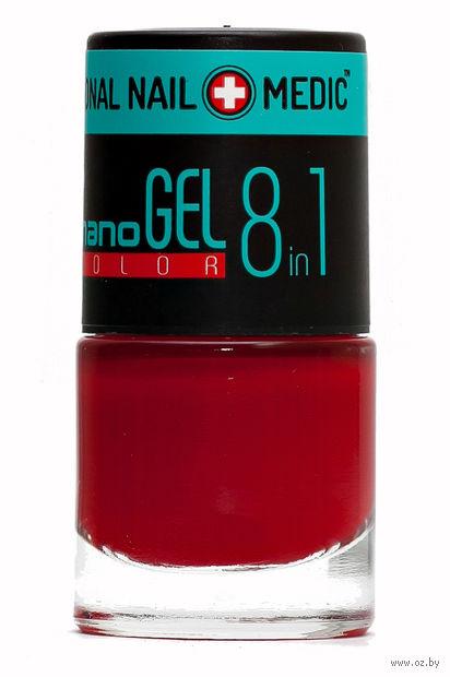 """Лак для ногтей """"Nano Gel Color"""" (тон: 10, карминный) — фото, картинка"""