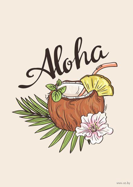 "Открытка ""Aloha"" — фото, картинка"