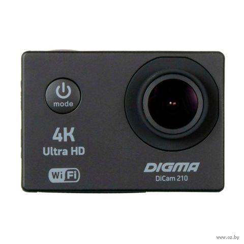 Экшен-камера Digma DiCam 210 (черная) — фото, картинка