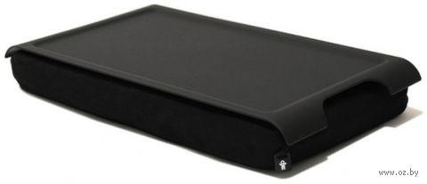 """Подставка с пластиковым подносом """"Laptray"""" мини (черная)"""