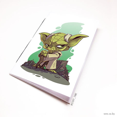 """Блокнот """"Звездные войны"""" (А5; арт. 893) — фото, картинка"""