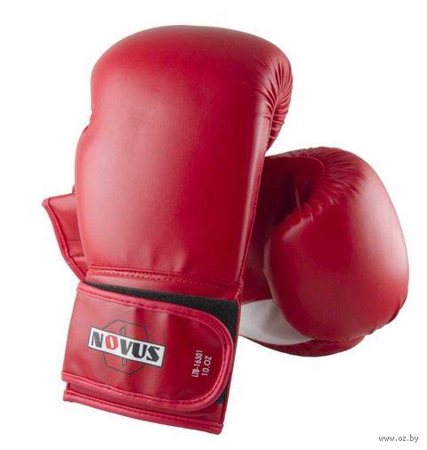 Перчатки боксёрские LTB-16301 (S/M; красные; 8 унций) — фото, картинка