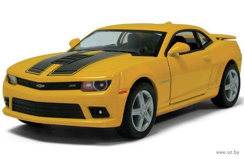 "Модель машины ""Chevrolet Camaro with printing 2014"" (масштаб: 1/38) — фото, картинка"
