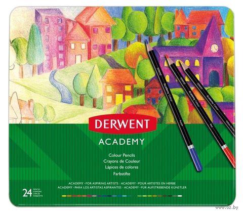 """Набор карандашей цветных """"Colour Pencil"""" (24 цветов) — фото, картинка"""