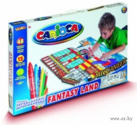 """Набор для рисования """"Carioca Kid's World"""" (Корабль; 72 предмета)"""