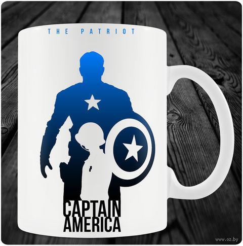 "Кружка ""Капитан Америка"" (арт. 3) — фото, картинка"