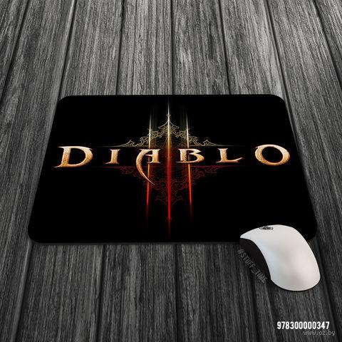 """Коврик для мыши большой """"Diablo"""" (арт. 347)"""