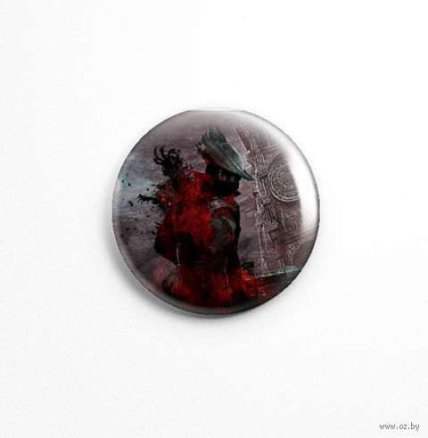 "Значок маленький ""Bloodborne"" (арт. 834) — фото, картинка"
