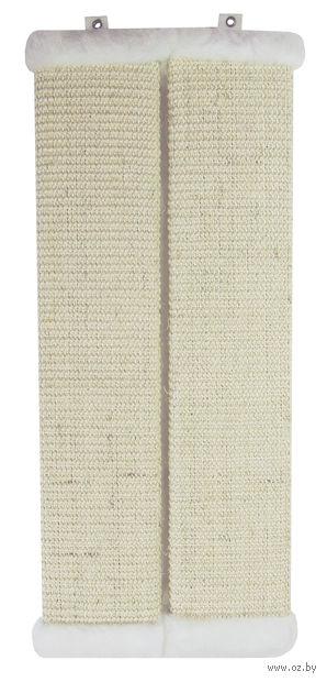 Когтеточка с креплением на стену (56х11 см; белая) — фото, картинка