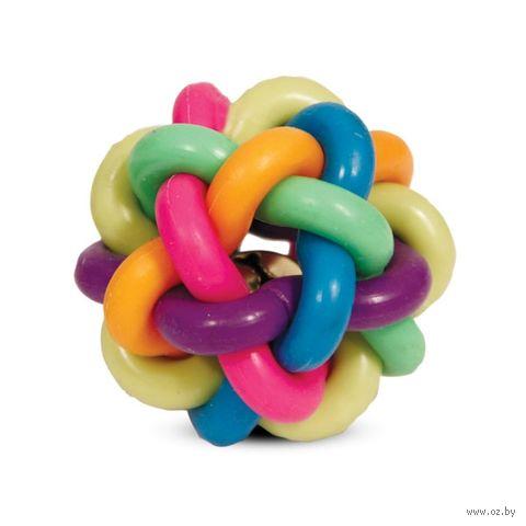 """Игрушка для собак """"Мяч-лабиринт с колокольчиком"""" (4,5 см) — фото, картинка"""