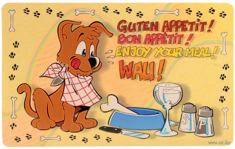 "Коврик под миску ""Enjoy Your Meal"" (44х28 см; арт. 24541) — фото, картинка"