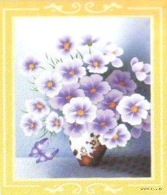 "Алмазная вышивка-мозаика ""Незабудки"" (450х600 мм) — фото, картинка"
