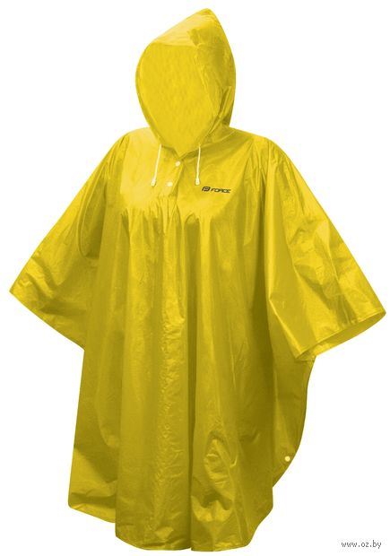 Дождевик-пончо (L-XXL; желтый) — фото, картинка