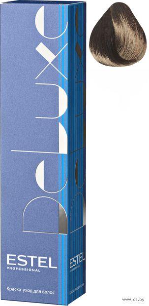 """Краска-уход для волос """"Estel. De Luxe"""" тон: 3/55, темный шатен красный интенсивный — фото, картинка"""