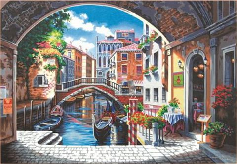 "Картина по номерам ""Венеция"" (360х510 мм; арт. DMS-73-91430)"