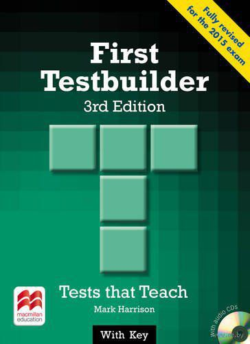 First Testbuilder. Student`s Book with Key (+ 2 CD) — фото, картинка
