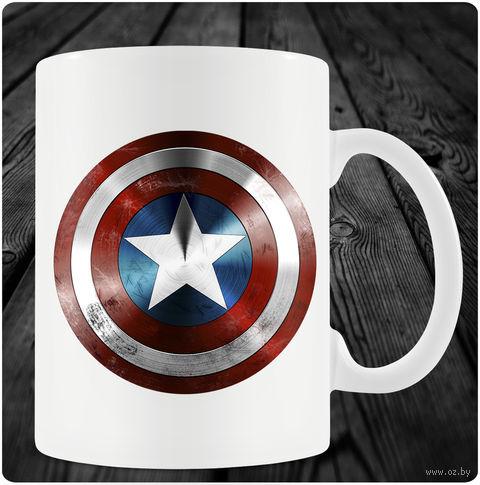 "Кружка ""Капитан Америка"" (арт. 6) — фото, картинка"