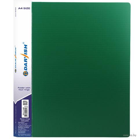 """Папка-регистратор """"Darvish"""" (А4; зеленая; арт. DV7-4K) — фото, картинка"""