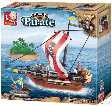 """Конструктор """"Пираты. Быстроходный пиратский корабль"""" (226 деталей) — фото, картинка"""