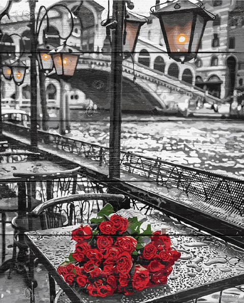 "Картина по номерам ""Венецианская набережная"" (400х500 мм) — фото, картинка"