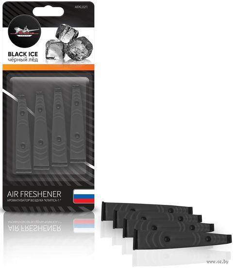 "Ароматизатор ""Клипса-1"" (чёрный лед; арт. AFKL021) — фото, картинка"