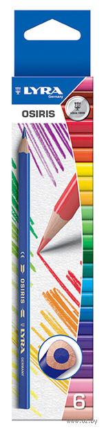 """Цветные карандаши """"OSIRIS"""" (6 цветов; арт. L2521060)"""