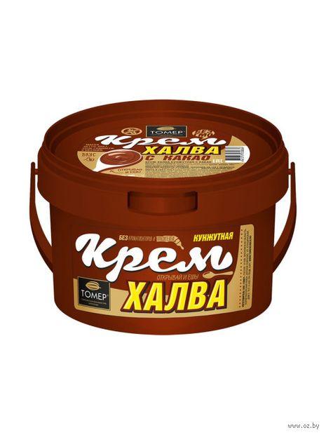 "Крем-халва ""Кунжутная с какао"" (800 г) — фото, картинка"