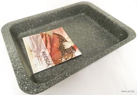 Форма для выпекания металлическая антипригарная (370х265х48 мм) — фото, картинка