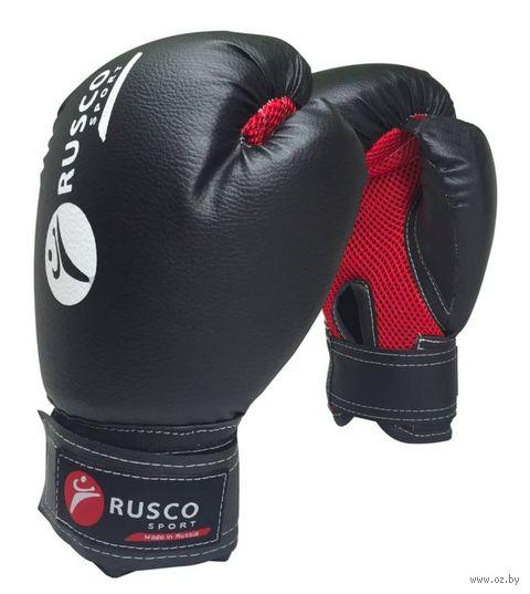 Перчатки боксёрские (6 унций; черные) — фото, картинка